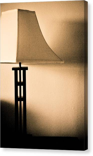 Lamp Canvas Print by Roberto Bravo