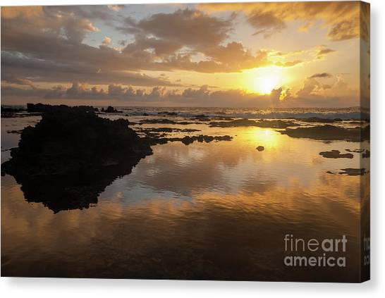 Lanai Sunset #1 Canvas Print