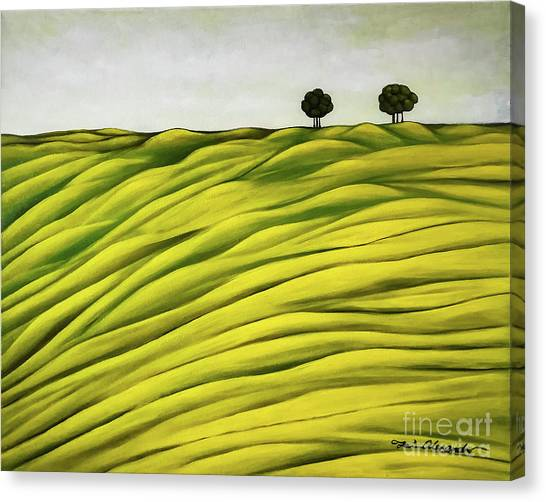 Land Of Breather Canvas Print