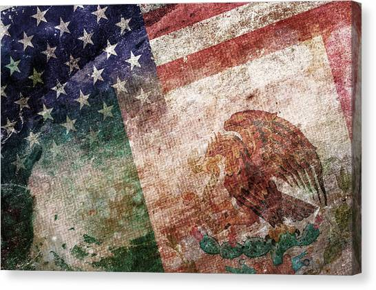 Independence Day Canvas Print - Land Of Opportunity by Az Jackson