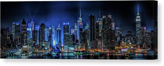 Land Of Tall Buildings Canvas Print