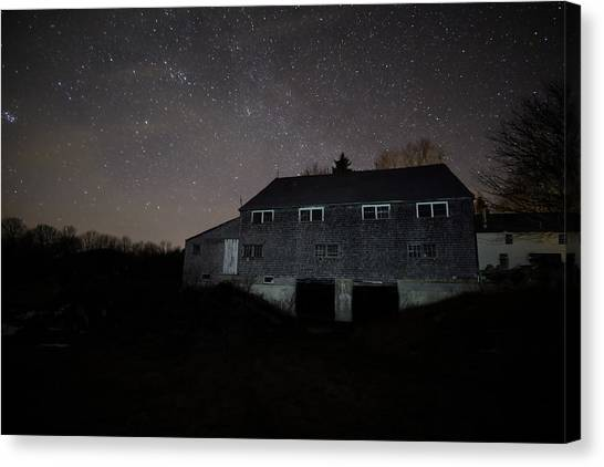 Landfall At Night Canvas Print