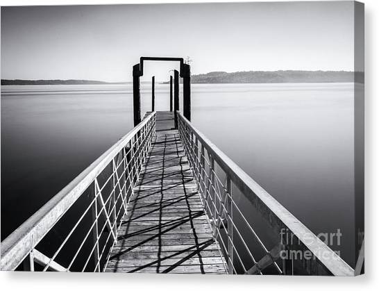 Landing Dock Canvas Print