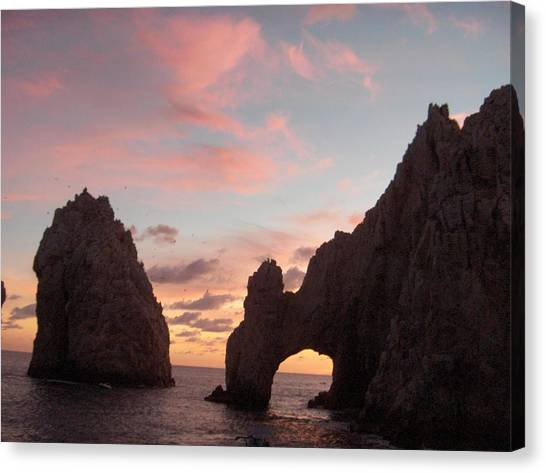 Lands End Canvas Print by Janet  Hall