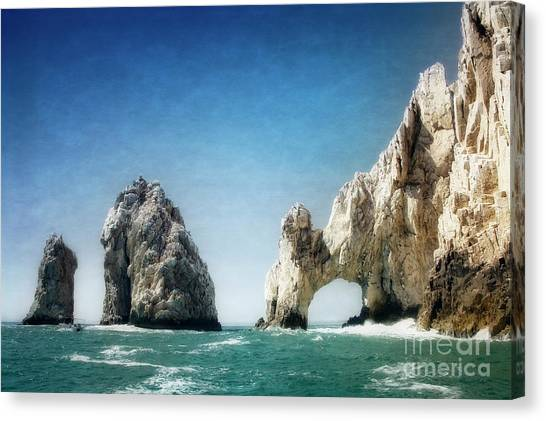 Canvas Print featuring the photograph Lands End by Scott Kemper
