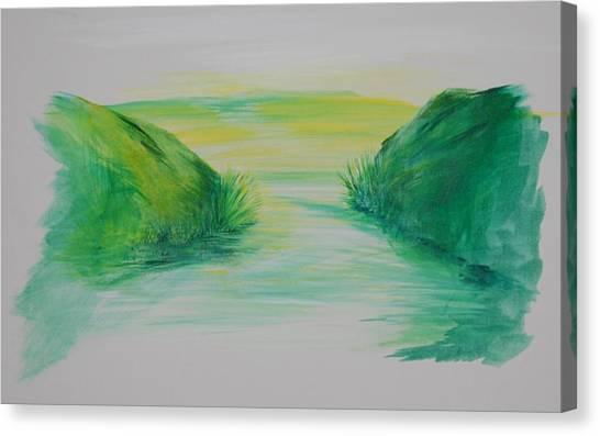 Landscape 1 Canvas Print by Amy Stewart Hale