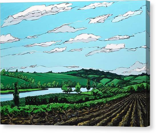 Landscape 108 Canvas Print