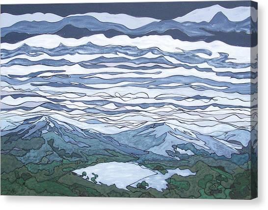 Landscape 381 Canvas Print