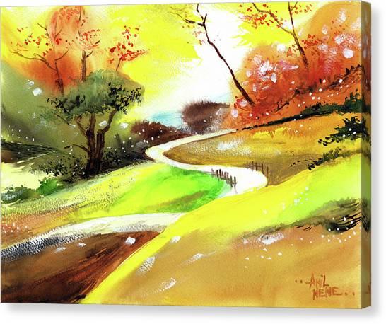 Landscape 6 Canvas Print
