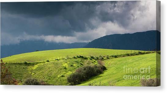 Landscape Aspromonte Canvas Print