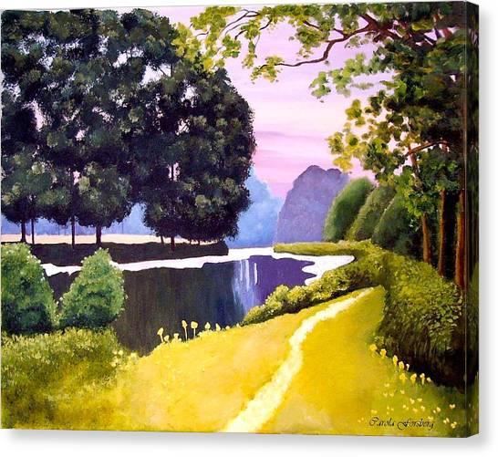 Landscape  Canvas Print by Carola Ann-Margret Forsberg