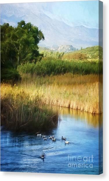Crete Canvas Print - Landscape Of Crete by HD Connelly