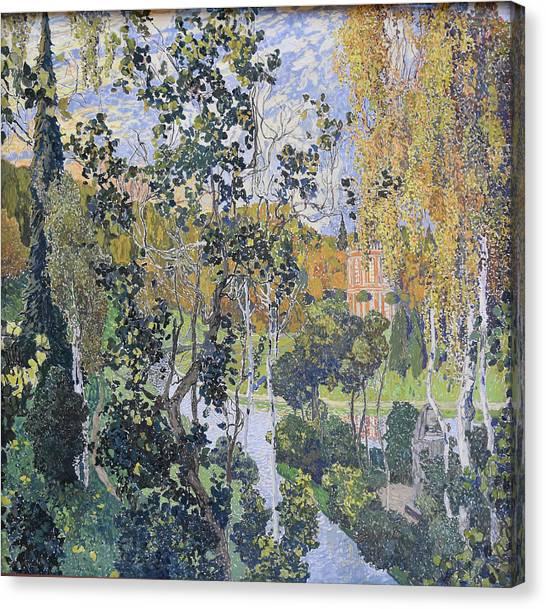 Landscape. Pavlovsk Canvas Print by Aleksandr Golovin