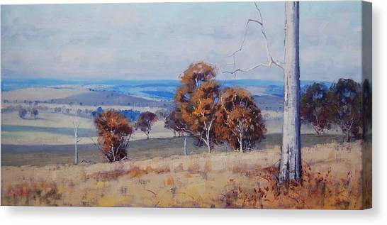 Australian Canvas Print - Landscape Shadows by Graham Gercken