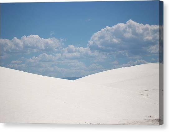 Landscapes Of White Sands 11 Canvas Print