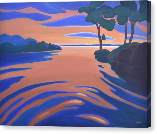 Languid Evening Canvas Print