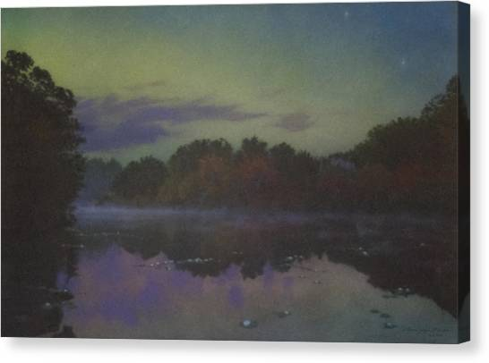Langwater At Twilight Canvas Print