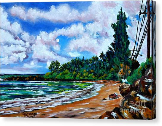 Laniakea Beach Canvas Print