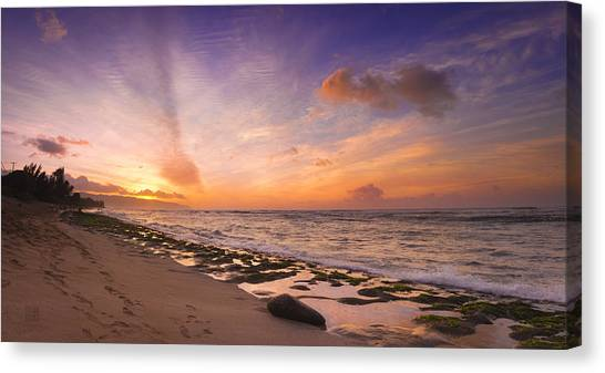 Laniakea Sunset Canvas Print