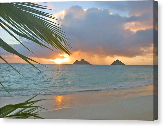 Lanikai Sunrise Canvas Print