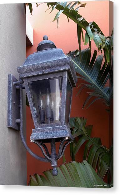 Lantern - Bermuda Canvas Print