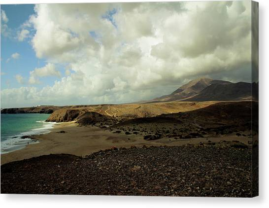 Canaries Canvas Print - Lanzarote by Cambion Art