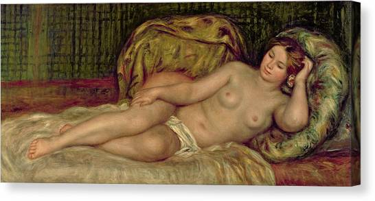 Sexuality Canvas Print - Large Nude by Pierre Auguste Renoir