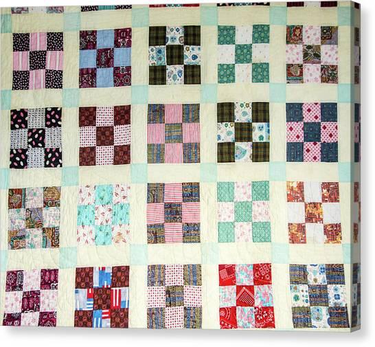 Large Quilt Canvas Print