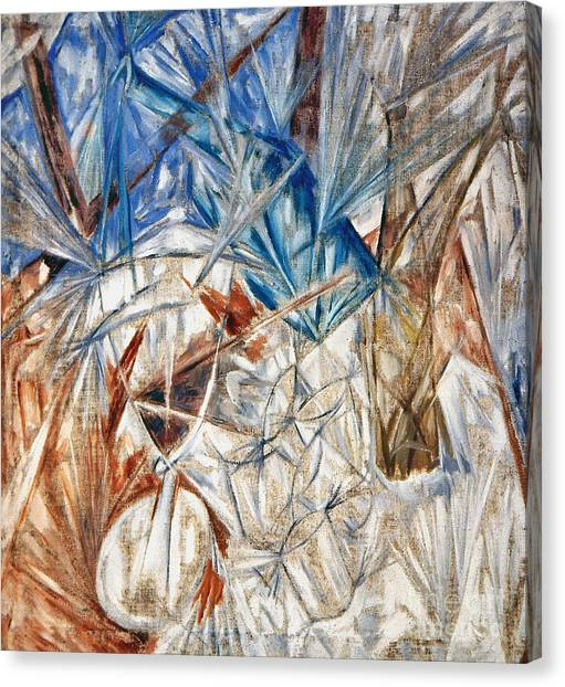 Rayonism Canvas Print - Larionov: Glass, 1912 by Granger