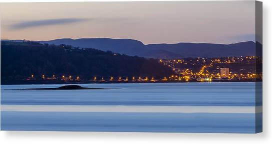 Larne From Magheramorne Canvas Print