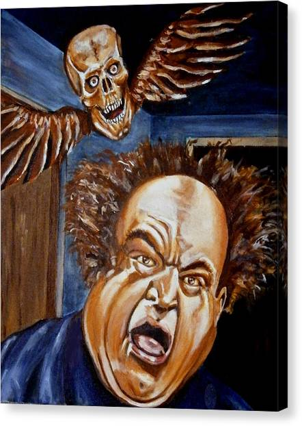 Larry Fine Canvas Print