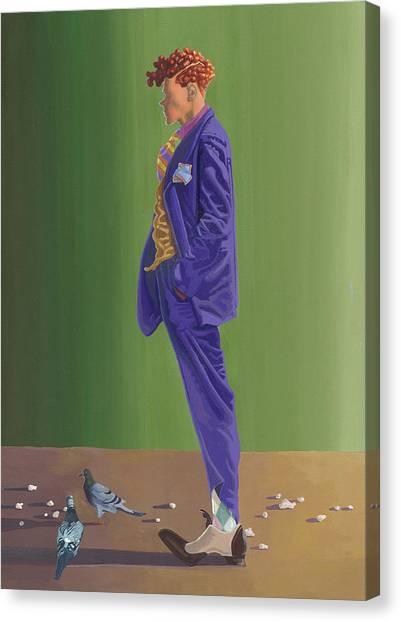 Larry Lightshoes Canvas Print