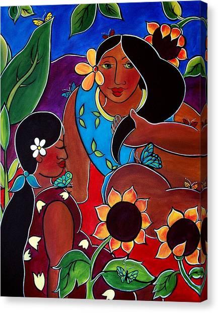 Las Mujeres  Canvas Print
