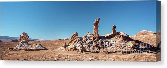 Atacama Desert Canvas Print - Las Tres Marias Atacama Desert by Delphimages Photo Creations