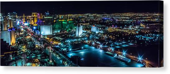 Las Vegas Looking North Canvas Print