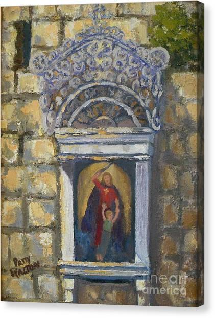 l'Ascensione Canvas Print