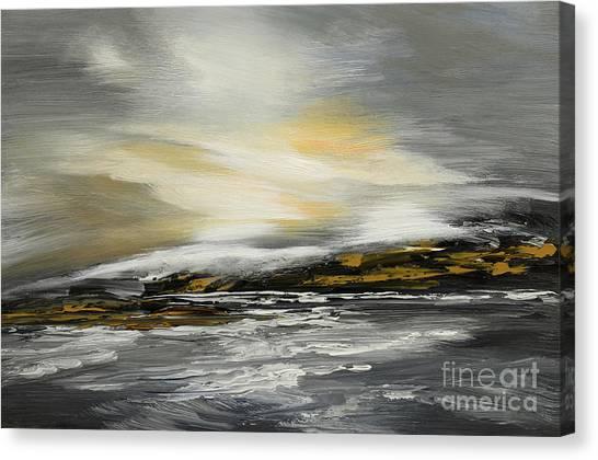 Lashed To Windward Canvas Print
