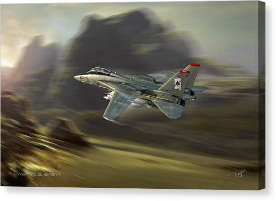 Iraq Canvas Print - Last Ace Baby by Peter Van Stigt