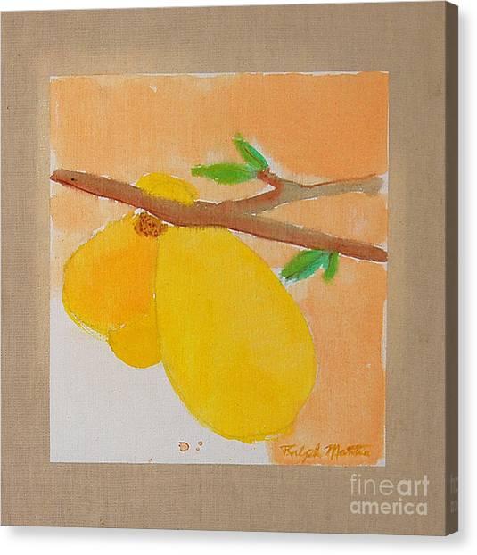 Last Bloom Canvas Print