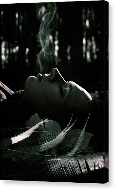 Black Forest Canvas Print - Last Breath by Cambion Art