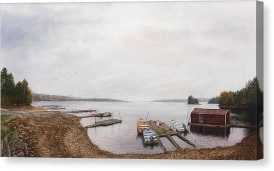 Last Call Canvas Print by Steven J White PWS
