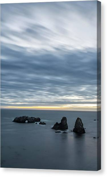 Ocean Canvas Print - Last Color Before Night by Jon Glaser