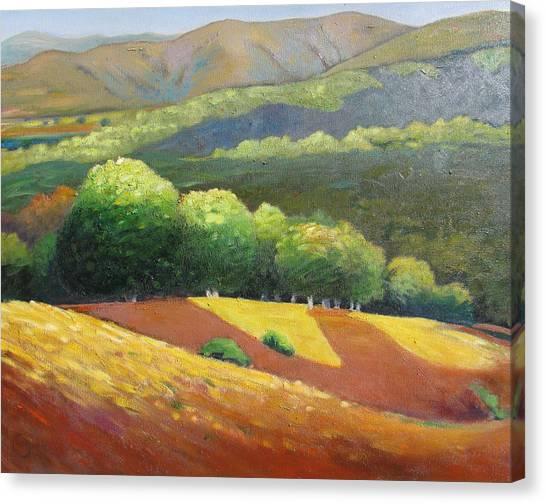 Last Kiss Of Sunshine Canvas Print