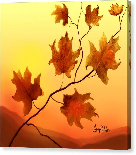 Last Leaves Canvas Print