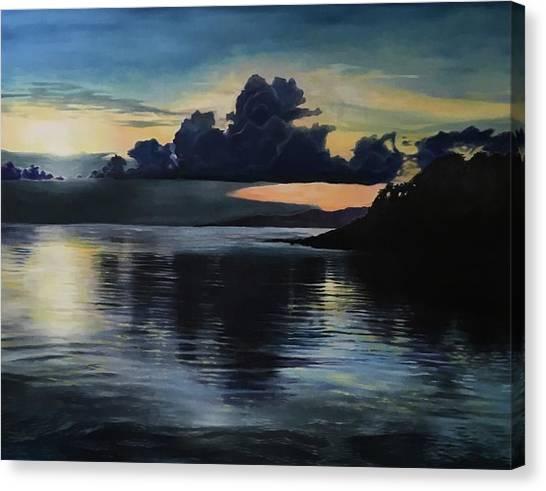Last Look At Lusias Lagoon Canvas Print
