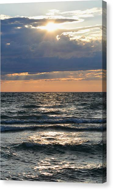 Last Rays Of Sunlight Canvas Print