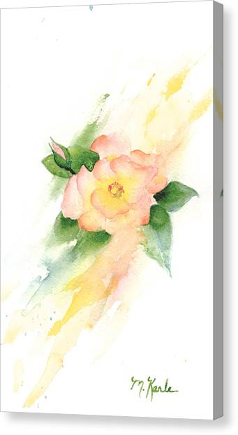 Last Rose Of Summer Canvas Print