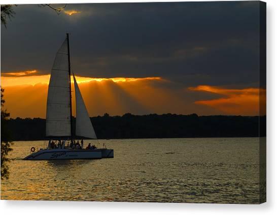 Last Sail Canvas Print