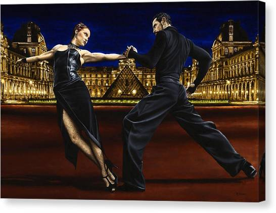 Tango Canvas Print - Last Tango In Paris by Richard Young