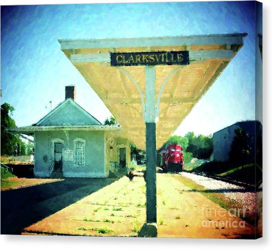 Last Train To Clarksville Canvas Print